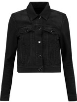 J Brand Harlow Cropped Denim Jacket