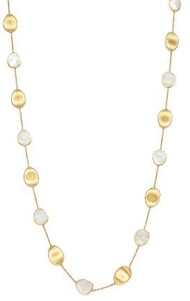 """Marco Bicego 18K Yellow Gold Lunaria Mother-of-Pearl Long Necklace, 36"""""""