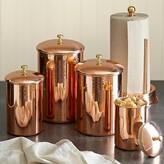 Williams-Sonoma Copper Canister
