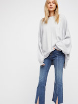 Free People Crop Button Front Jeans