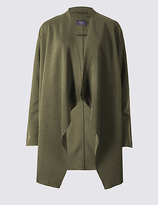 M&S Collection Open Front Waterfall Jacket