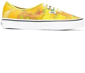 Vans printed Van Gogh Sunflowers sneakers