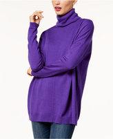 Eileen Fisher Merino Wool Turtleneck Sweater, Regular and Petite