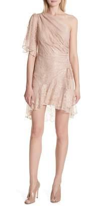 A.L.C. Misha One-Shoulder Lace Dress