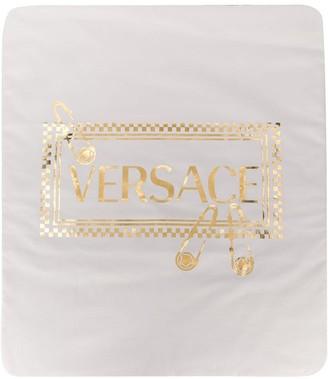 Versace Padded Logo Blanket