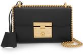 Gucci Padlock Small Leather Shoulder Bag - Black