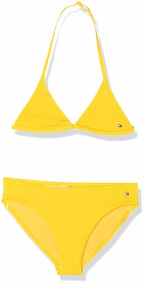 Tommy Hilfiger Girls' Triangle Swimwear Set