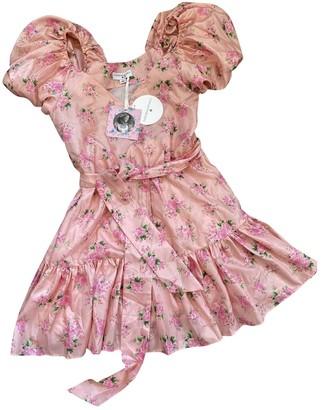 LoveShackFancy Pink Polyester Dresses