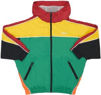 Molo Color Block Nylon Jacket W/ Hood