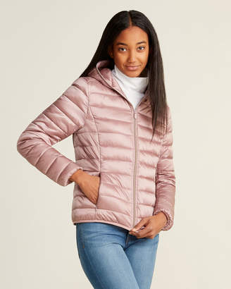 Save The Duck Iris Full-Zip Hooded Packable Jacket