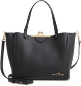 Marc Jacobs The The Kiss Lock Mini Leather Tote