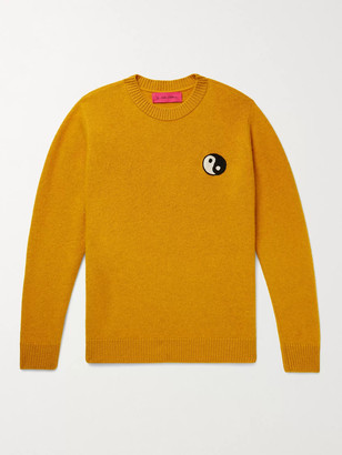 The Elder Statesman Embroidered Cashmere Sweater