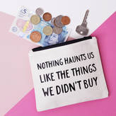 Nell Elsie & 'Nothing Haunts Us Like The Things We Didn't Buy' Purse