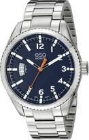 ESQ by Movado ESQ Movado Men's 07301426 esq Catalyst tm Three-Hand Dial Watch