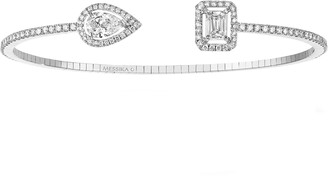 Messika My Twin Open Diamond Cuff Bracelet