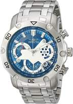 Invicta Men's 'Pro Diver' Quartz Stainless Steel Casual Watch, -Toned (Model: 22764)