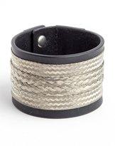 Faith Connexion Leather Cuff Bracelet