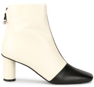 Salondeju colour-block ankle boots