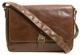 Boconi Men's 'Becker' Leather Messenger Bag - Brown