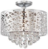 Lite Source Benedetta Ceiling Light - Silver