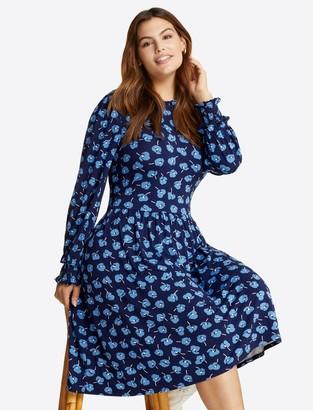 Draper James Kitty Knit Dress in Poppy