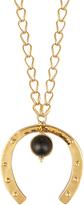 Aurelie Bidermann Theia gold-plated necklace