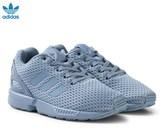 adidas Blue Grey ZX Flux Kids Trainers