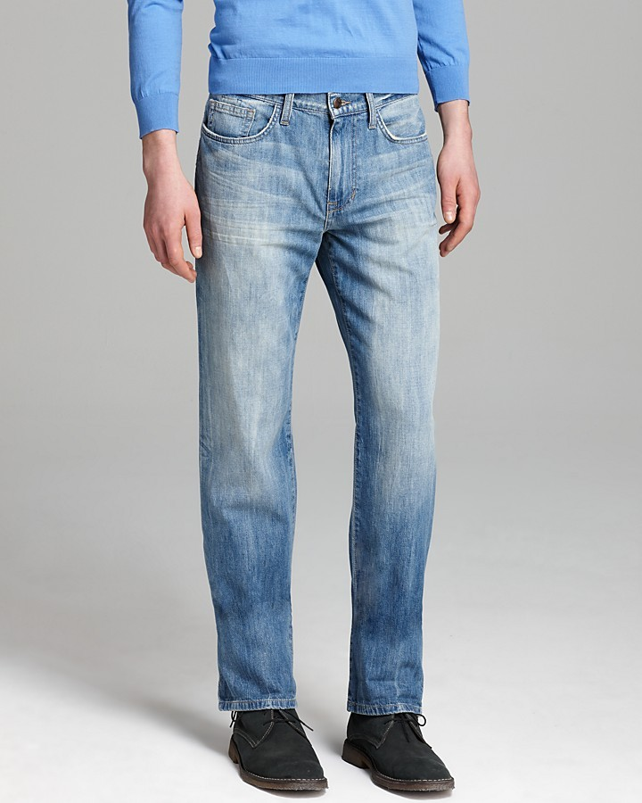 Brixton Joe's Jeans - The Slim Straight Fit in Wyeth