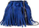 Stella McCartney 'Falabella' fringed shoulder bag - women - Artificial Leather/Metal (Other) - One Size