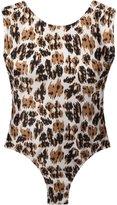 BRIGITTE open back printed bodysuit - women - Polyamide - P