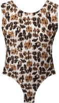 BRIGITTE open back printed bodysuit - women - Polyamide - PP