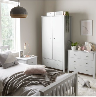 Novara 2 Door 1 Drawer Wardrobe