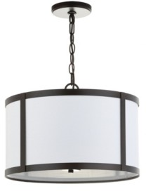 Jonathan Y Designs Thatcher Metal Led Pendant Light