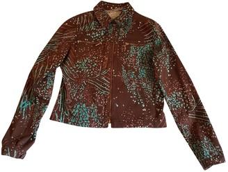 Ungaro Brown Cotton Jackets