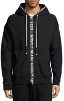 Mostly Heard Rarely Seen Ticker Feed French Terry Hoodie