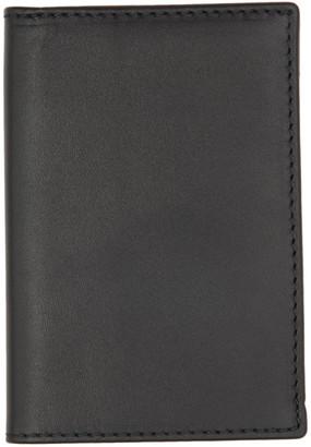 Comme des Garçons Wallets Black Classic Foldover Bifold Card Holder