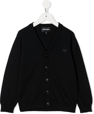 Emporio Armani Kids Button-Up Cardigan