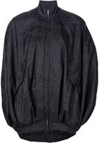 Moschino danger sign cocoon jacket