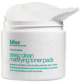 Bliss Steep Clean Mattifying Toner Pads, 50 Count