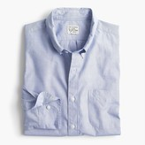 Untucked Stretch Secret Wash Shirt In End-on-end Cotton Poplin