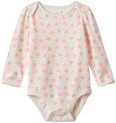 Baby Girl Jumping Beans® Butterfly Glitter Bodysuit