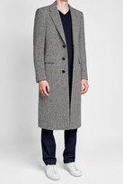 Burberry Donegal Herringbone Wool Topcoat
