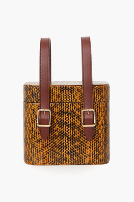Snakeskin Picnic Safari Bag