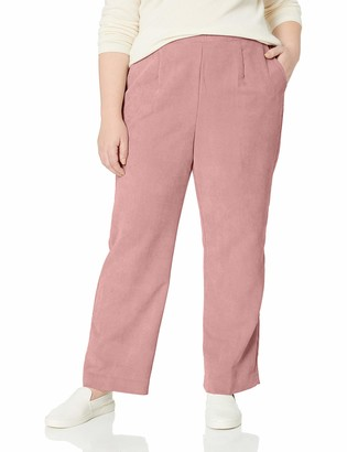 Alfred Dunner Women's Size Plus Full Back Elastic Proportioned Medium Pant