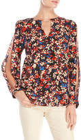 Tracy Reese Printed Silk Blouse
