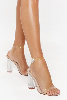 Nasty Gal Womens Let's Be Clear Heel - Beige - 3