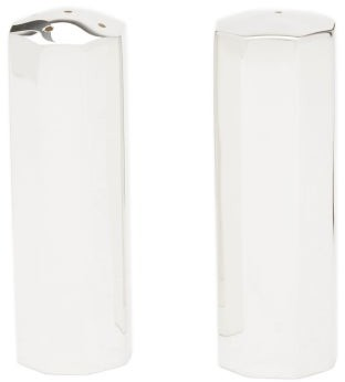 The Wolseley Collection - Silver-plated Salt And Pepper Shakers - Silver