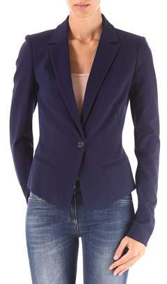 Pinko Women's Blue Viscose Blazer