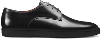 Santoni Doyle Leather Dress Shoes