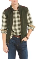 Daniel Cremieux Tweed Full-Zip Vest